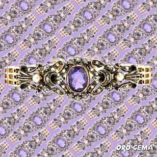 3c5952ce172a Diseños antiguos que enamoran ❤  pulseras   perlascultivadas   relojesdecoleccion  oro