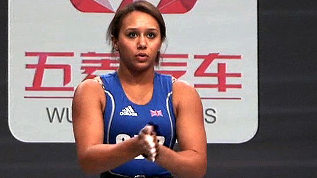 Britain's Zoe Smith  set two personal bests at the World Weightlifting Championships in Paris but opted not to go for the Olympic 'A' qualifying mark. The 17-year-old Londoner lifted a combined total of 204kg, with 205kg the required 'A' standard for 2012.