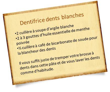 Pour les dents, le bicarbonate de soude est efficace. Des dents plus blanches ? Des tâches sur les dents ? C'est le bicarbonate de soude qu'il vous faut.