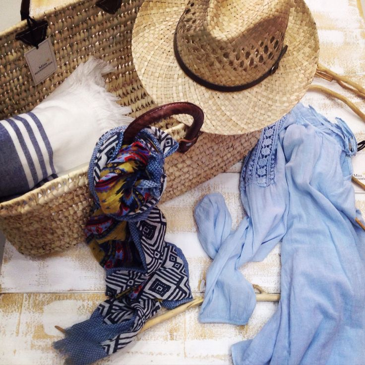 #basket #hat #scarf #shirt #towel All by Miss Accessories