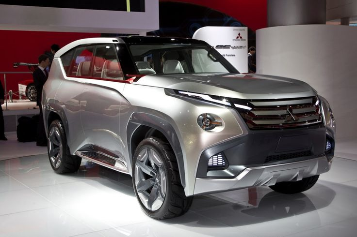 Mitsubishi GCPHEV Concept First Look Mitsubishi
