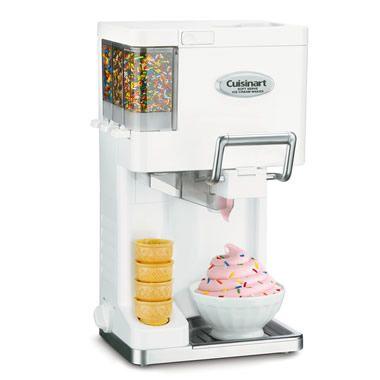 The Automatic Soft Serve Ice Cream Maker - Hammacher Schlemmer