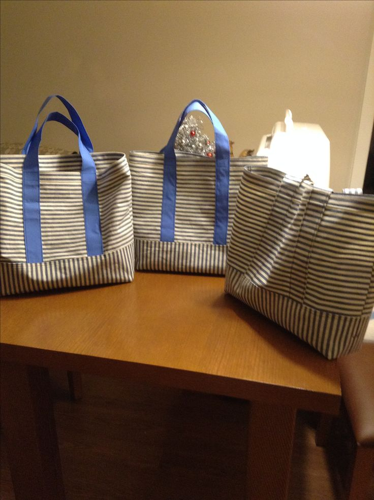 Nov 24/17 grocery bags Recycled fabric