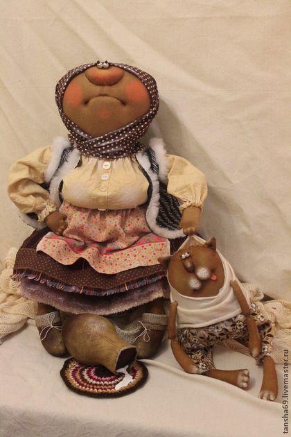 Васька паршивец!!! - примитив,примитивная кукла,примитивы,текстильная кукла