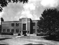 Library Virginia Intermont College, Bristol, Virginia
