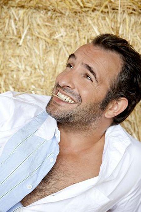 Jean Dujardin-devastatingly handsome smile!