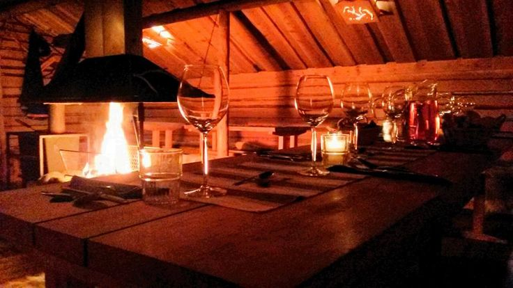 Special dinner at Sierijärvi Reindeer farm
