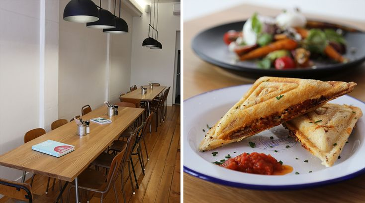 Treat yourself to a breakfast (or lunch) of champions at this bold Newmarket cafe.