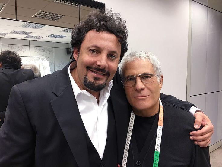 Enrico Brignano with Carlo Pignatelli