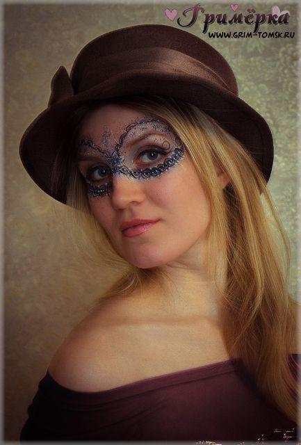 Аквагрим, грим, маска, Вечерний аквагрим face painting, make-up, mask, Evening face painting