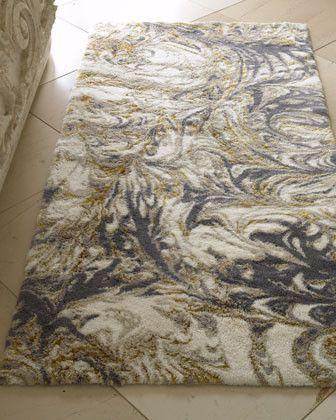 Casanova Bath Rug - traditional - bath mats - Horchow