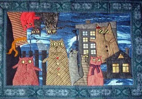 лоскутные шторы с кошками: 2 тыс изображений найдено в Яндекс.Картинках