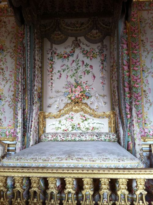 Marie Antoinette bed's at Versailles.