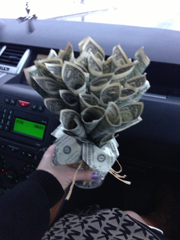 Origami Money Flower Bouquet   ORIGAMI TUTORIAL, LETS MAKE IT !