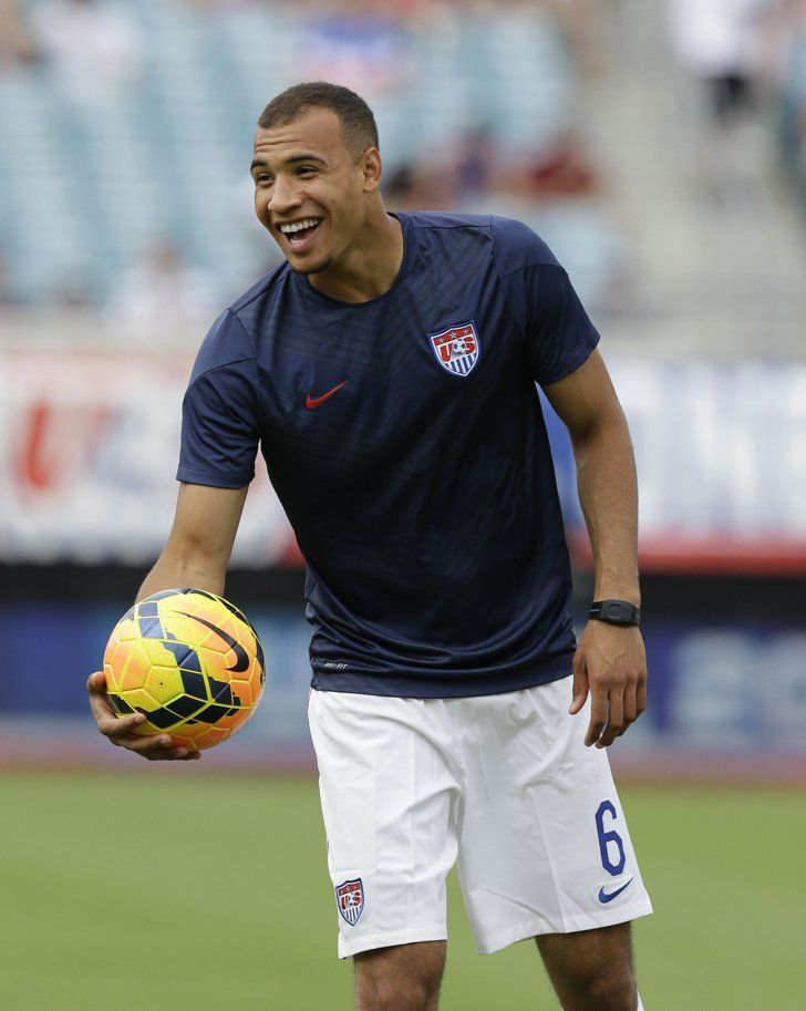 Pin for Later: Meet the Soccer Studs Playing For the USA John Brooks  Age: 21 Hometown: Berlin, Germany Team: Hertha BSC (Germany)