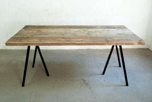 Up-Cycle Tischplatte Bauholz-Dielen 4,5 cm massiv in Berlin - Prenzlauer Berg | Esstisch gebraucht kaufen | eBay Kleinanzeigen