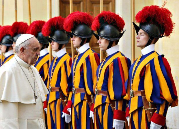 O DIÁRIO DE DEUS: A História da Guarda Suíça do Papa