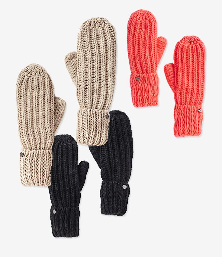 Basic Mittens. #hotforholiday ♡♥ the coral !