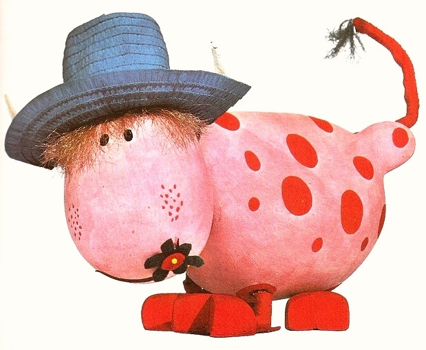 "Ermintrude, from ""The Magic Roundabout""."