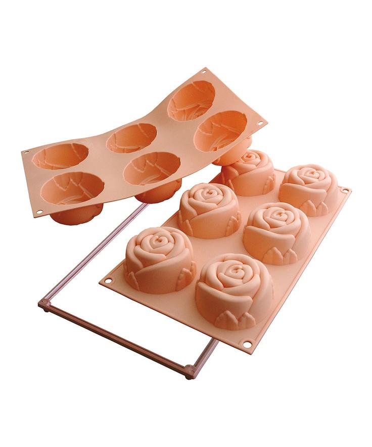 Silikomart Rose Cake Pan