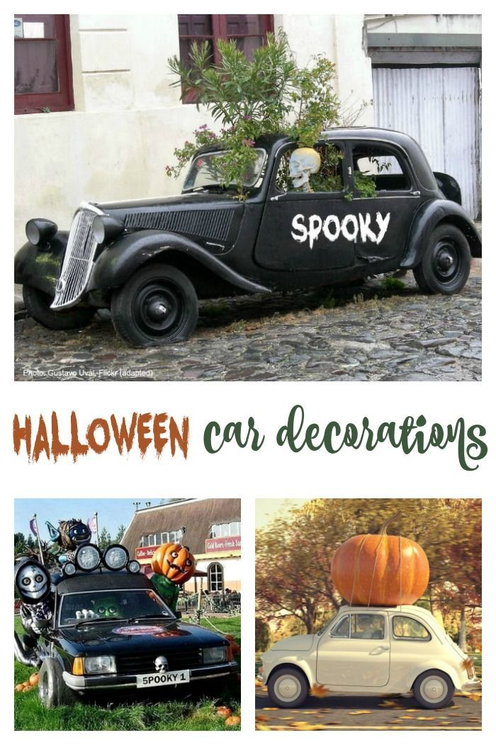 Halloween Car Decorationos In 2020 Halloween Car Decorations Car Decor Unique Halloween