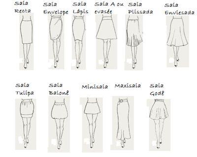 Socorro Vou Morar Sozinha: Curso Nível 0: Vários tipos de saias para vários tipos de corpo