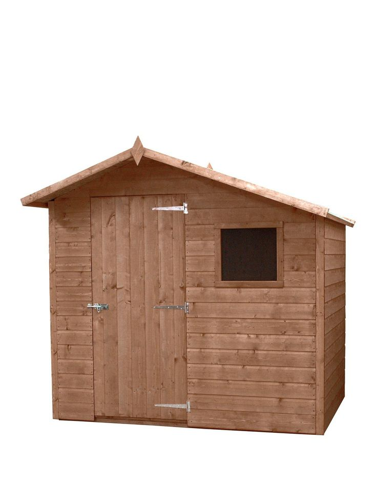 Mercia 7X5 Premium Pressure Treated Shiplap Apex Shed With