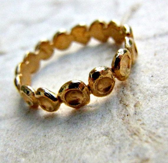 Gold wedding band. Wedding ring for woman. Women by shmukies