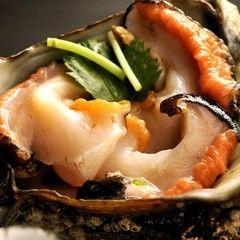 【海鮮料理】サザエつぼ焼き