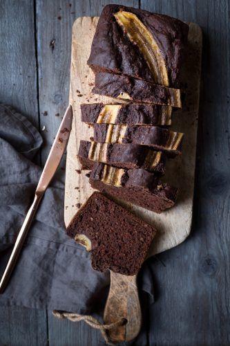 Rezept für schokoladiges Banana Bread
