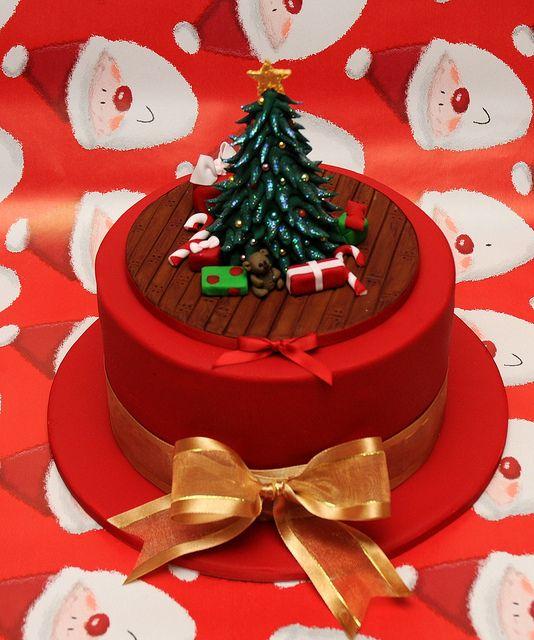 sweet little Christmas Cake
