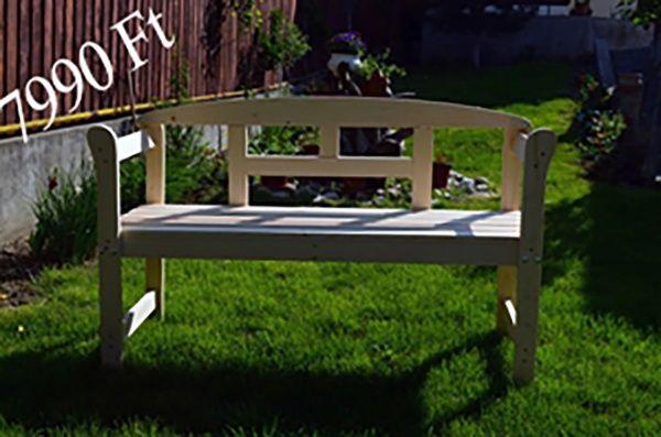 2 személyes kerti pad (fenyő) számlával, garanciával, Maglód [Pepita Hirdető]