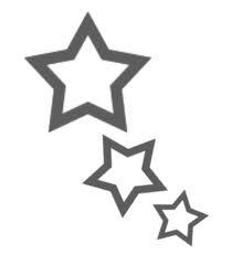 étoile tatouage >>> pour une amie !