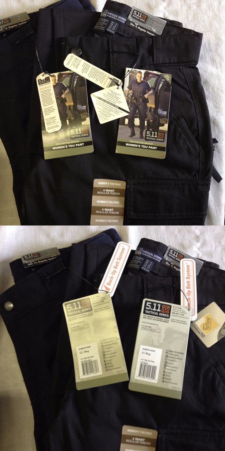 Tactical Clothing 177896: Womens Tdu Pants Ripstop 64359 Nwt 511 Tactical $40 -> BUY IT NOW ONLY: $40 on eBay!