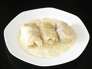 Authentic Greek Recipes: Greek Stuffed Cabbage Leaves (Lahanodolmades)