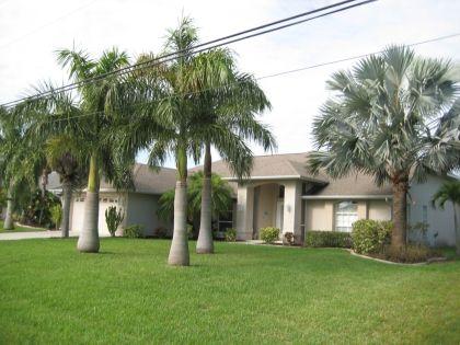 Ferienhaus Cape Coral - Ferienhaus Villa Palm Island - Ferienhäuser Florida USA - VILLA PARADISO am Kanal