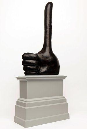 Fourth Plinth shortlist - Really Good by David Shrigley