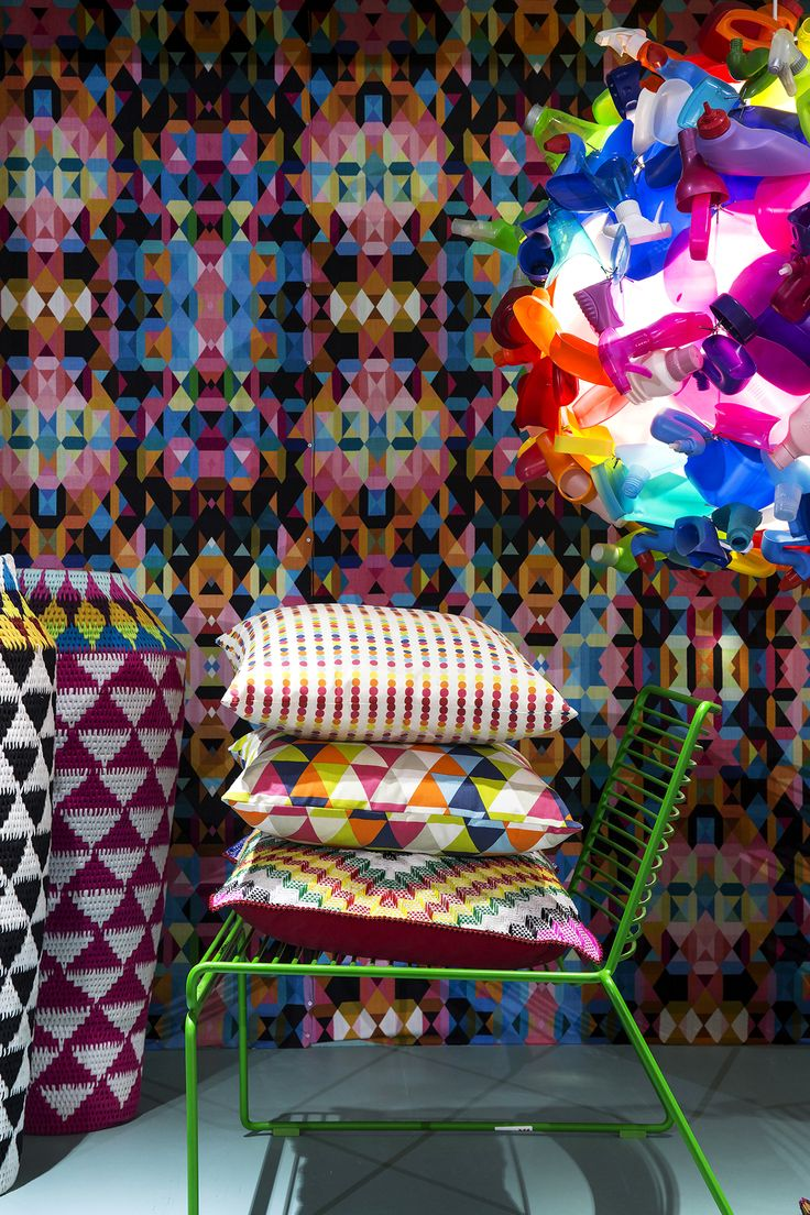100% Design South Africa, 100% Colour exhibit by Platform Creative Agency, photograph Karl Rogers