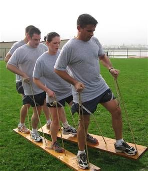 walk the plank team building game - Google Search