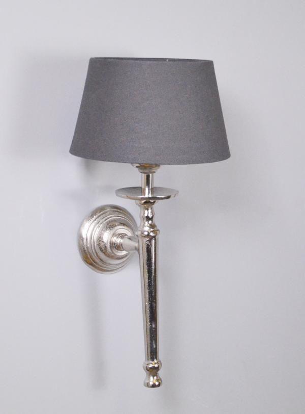 Wandlampe Lampenschirm Grau