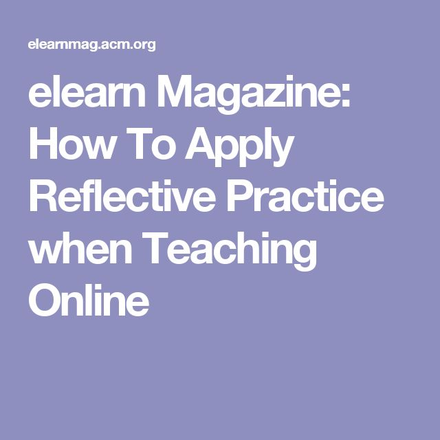 access to higher education reflective practice You have free access to this content the importance of and an approach to comprehensive reflective practice  growing tendency to view higher education as central.