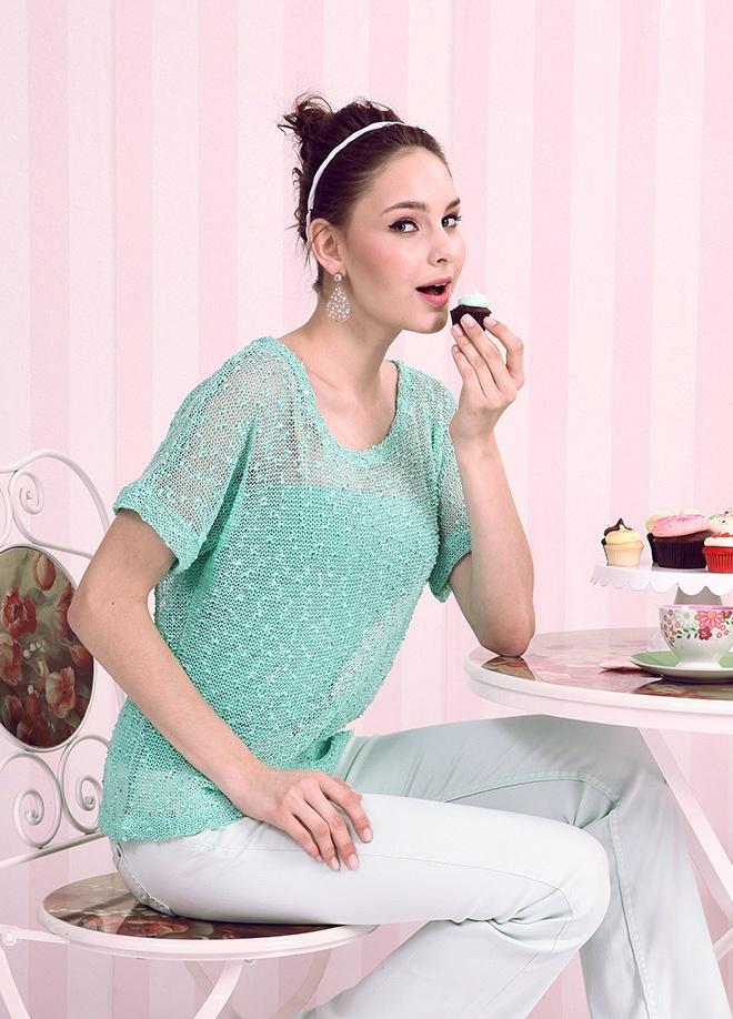 Pink Lady Bluz Markafonide 59,90 TL yerine 29,99 TL! Satın almak için: http://www.markafoni.com/product/3851613/