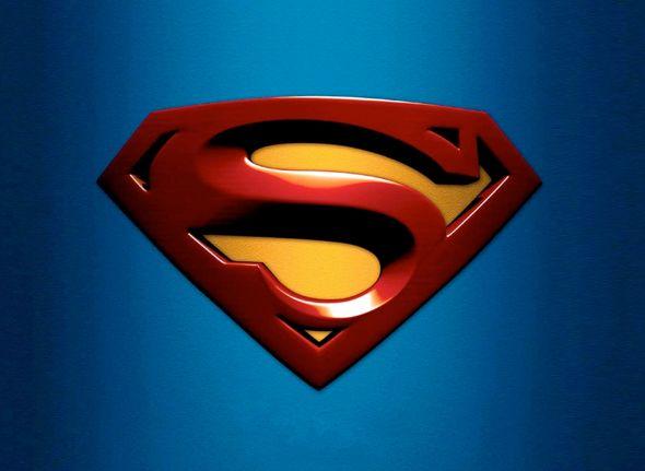 ESCUDO DE SUPERMAN COMO LOGOTIPO logos superheroes