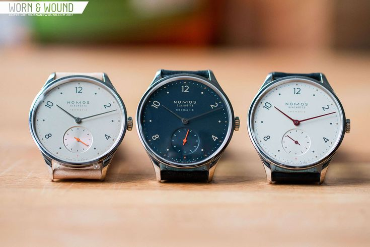 Today on worn&wound, we review the Nomos Minimatik in Silver/Classic, Nachtblau and Champagner–three great watches from the German manufacture.