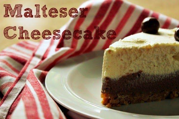 A Cornish Food Blog   Jam and Clotted Cream: Malteser Cheesecake