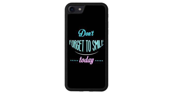 N'oublie pas de sourire iphone 4 5 6 7 samsung S3 S4 S5 S6 S7 S8 edge note plus LG G3 G4 G5 G6 Moto G G2 E X Play Z HTC  5X 6P Sony Pixel de la boutique MeMCase sur Etsy