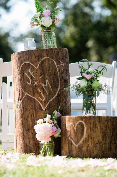 Perfect for decor at the wedding ceremony or for the centerpiece. :: Photography by We Do...Wedding Photography