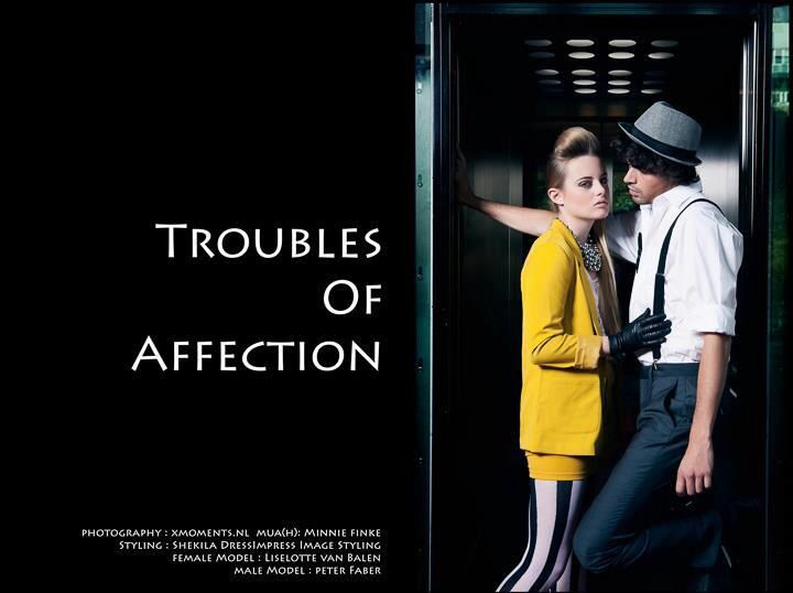 Troubles of affection-photoshoot