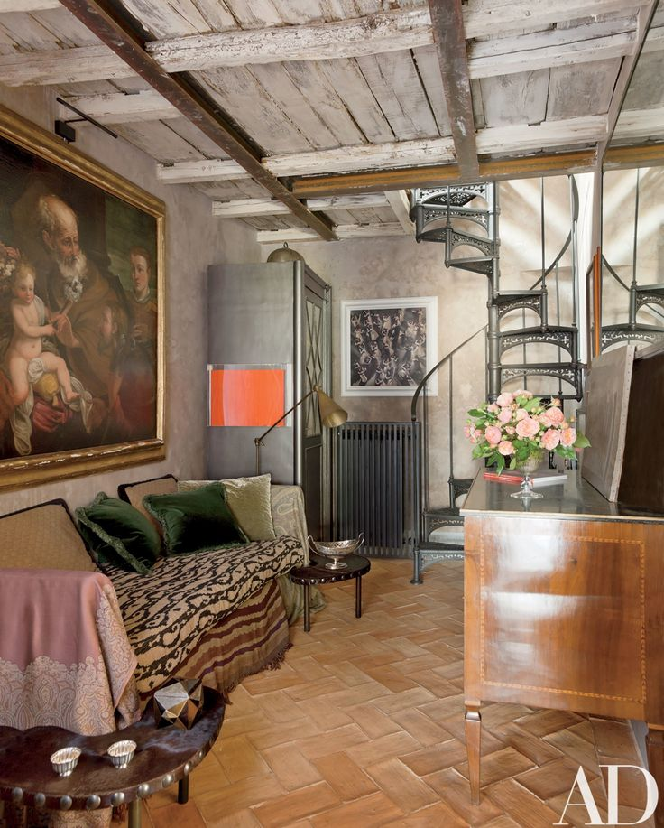 Look Inside Livia Rebecchini's 16th-Century Apartment in Rome Photos | Architectural Digest