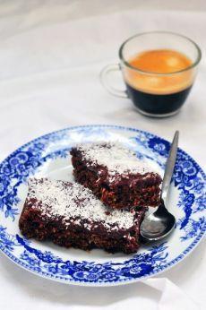 Шоколадно-кокосовые пирог.